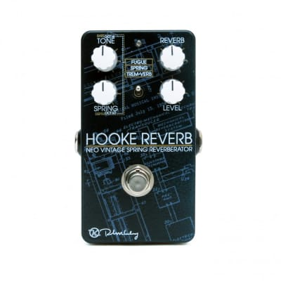 New Keeley Hooke Spring Reverb Guitar Effects Pedal