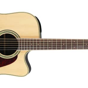 Takamine GD71CE NAT G70 Series Dreadnought Cutaway Acoustic/Electric Guitar Natural Gloss