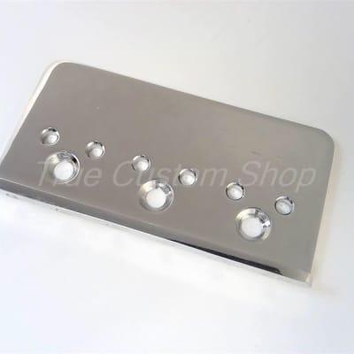 "True Custom Shop® Chrome Fender® Mexican Standard Stratocaster 2-3/16"" Hardtail Bridge Plate"