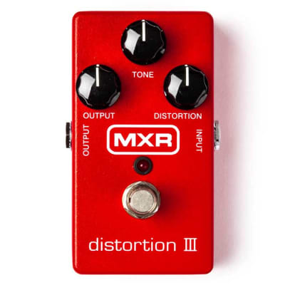 MXR M115 Distortion III Guitar Effects Pedal for sale