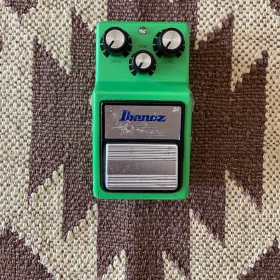 Ibanez Maxon Board TS9 Tube Screamer 2001  Toshiba TA75558 chip overdrive distortion guitar pedal for sale