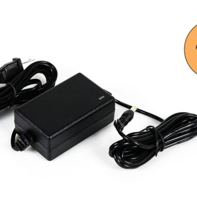 Korg 9V AC Power Supply Adapter for RK-100S, CLIPHIT, tinyPIANO