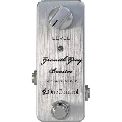 One-Control Granith Grey Booster Pedal for sale