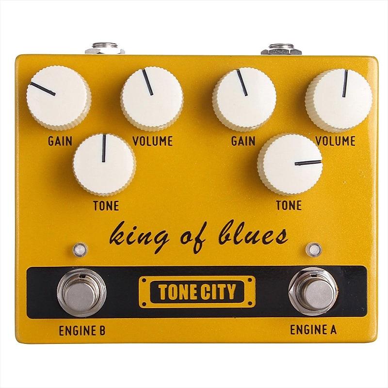tone city king of blues overdrive klon style tc t30 guitar reverb. Black Bedroom Furniture Sets. Home Design Ideas