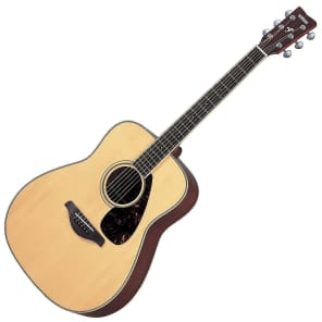 Yamaha FG720S Dreadnought Acoustic Guitar Natural