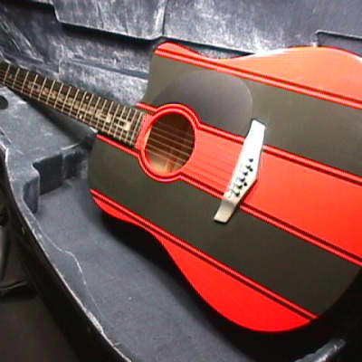 Esteban Chevrolet Camaro Limted Edition Acoustic-Electric Guitar in Orig. Case & Ready to Play   9 G for sale