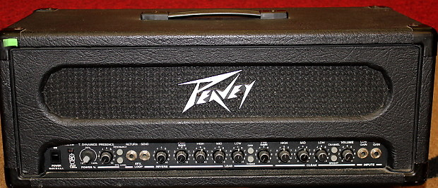 Peavey Supreme 100 Watt Head - Just Me And Supreme