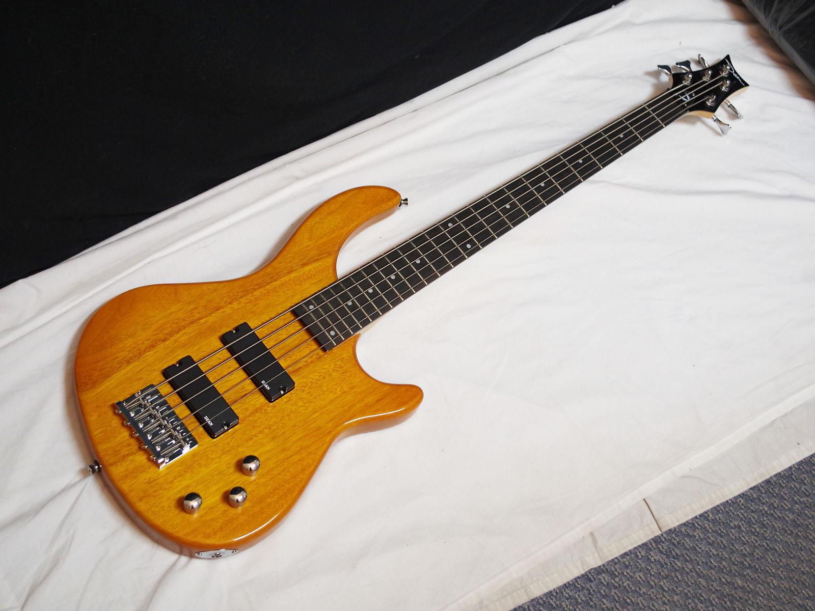 dean edge 1 5 string bass trans amber reverb. Black Bedroom Furniture Sets. Home Design Ideas