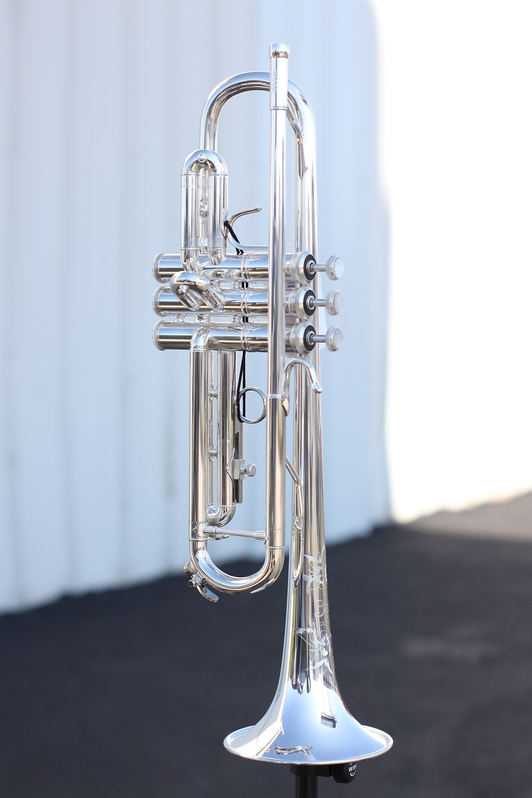 NEW VINCENT BACH TR200S Bb INTERMEDIATE SILVER TRUMPET!!!