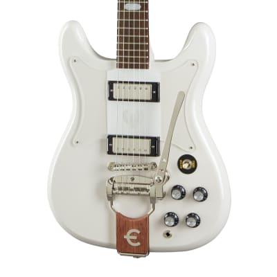 Epiphone Crestwood Custom Electric Guitar, Polaris White for sale