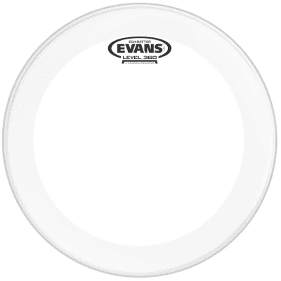 """Evans BD20GB4C EQ4 Frosted Bass Drum Head - 20"""""""