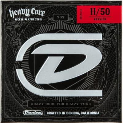 Dunlop Heavy Core Electric Strings 11-50