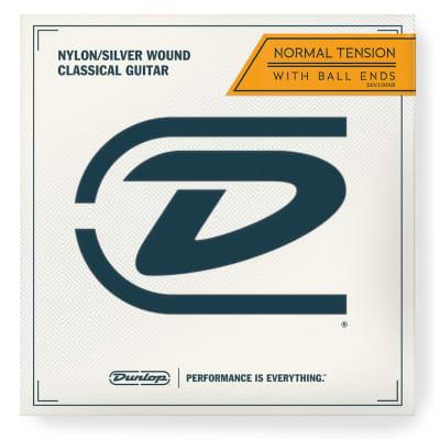 Dunlop DCV100NB Ball-End Nylon Classical Guitar Strings
