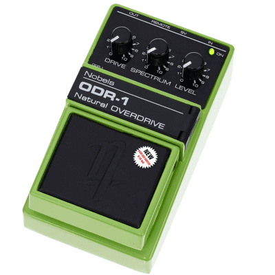 [FREE 3-Day Intl Shipping] Nobels ODR-1 MK2 (with Bass Cut Switch) Tubescreamer