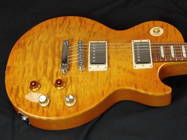 Gibson gary moore les paul standard tribute lemon burst reverb - Gibson gary moore ...