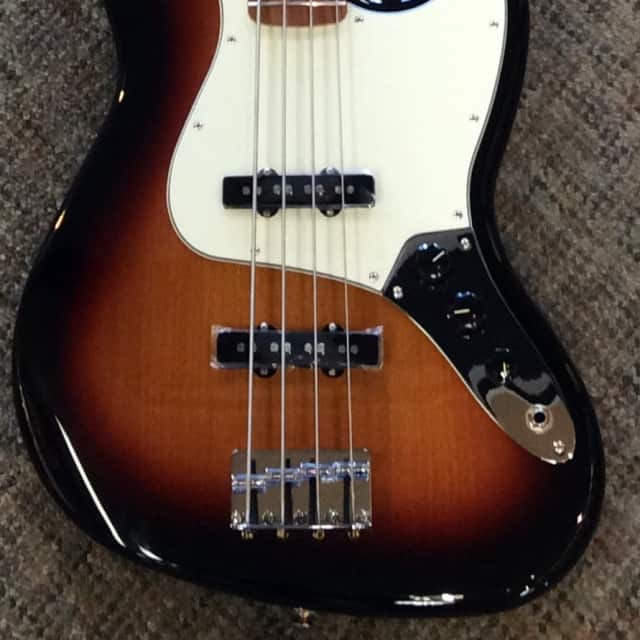 Fender Standard Jazz Bass Brown Sunburst (Scratch and Dent sale) image