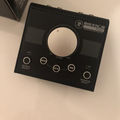 Mackie Big Knob Passive Monitor Controller (Open Box)