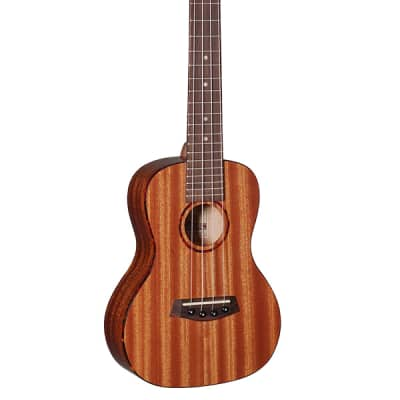 Islander Electro-acoustic traditional concert uke w/ Mahogany top, Tortoise Binding for sale