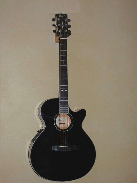 cort sfx10 acoustic electric guitar with solid engelmann reverb. Black Bedroom Furniture Sets. Home Design Ideas