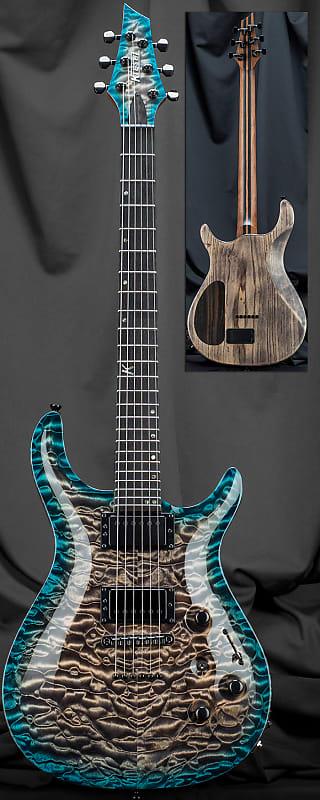 kiesel ct624m 24 fret california carved top electric guitar reverb. Black Bedroom Furniture Sets. Home Design Ideas