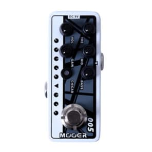 Mooer 005 Fifty-Fifty 3 Micro Preamp