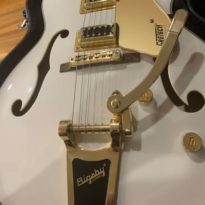 Gretsch G5422t White and Gold