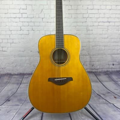 Yamaha FG-TA TransAcoustic Acoustic Guitar | Vintage Tint for sale