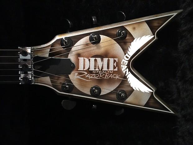 Dean Razorback 2006 Rust Bullseye Guitar Zakk Wylde ... Zakk Wylde Dean Guitars