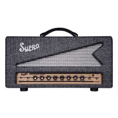 SUPRO 1696RTH BLACK MAGICK REVERB HEAD 25W for sale
