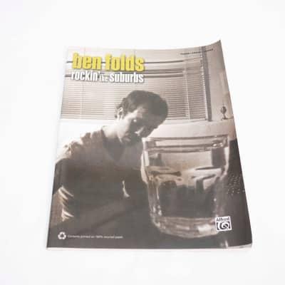 Alfred Music Ben Folds Rockin' the suburbs sheet music 2000