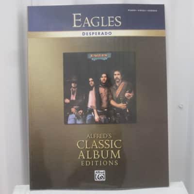 Eagles Desperado Sheet Music Song Book Songbook Piano Vocal Guitar Chords