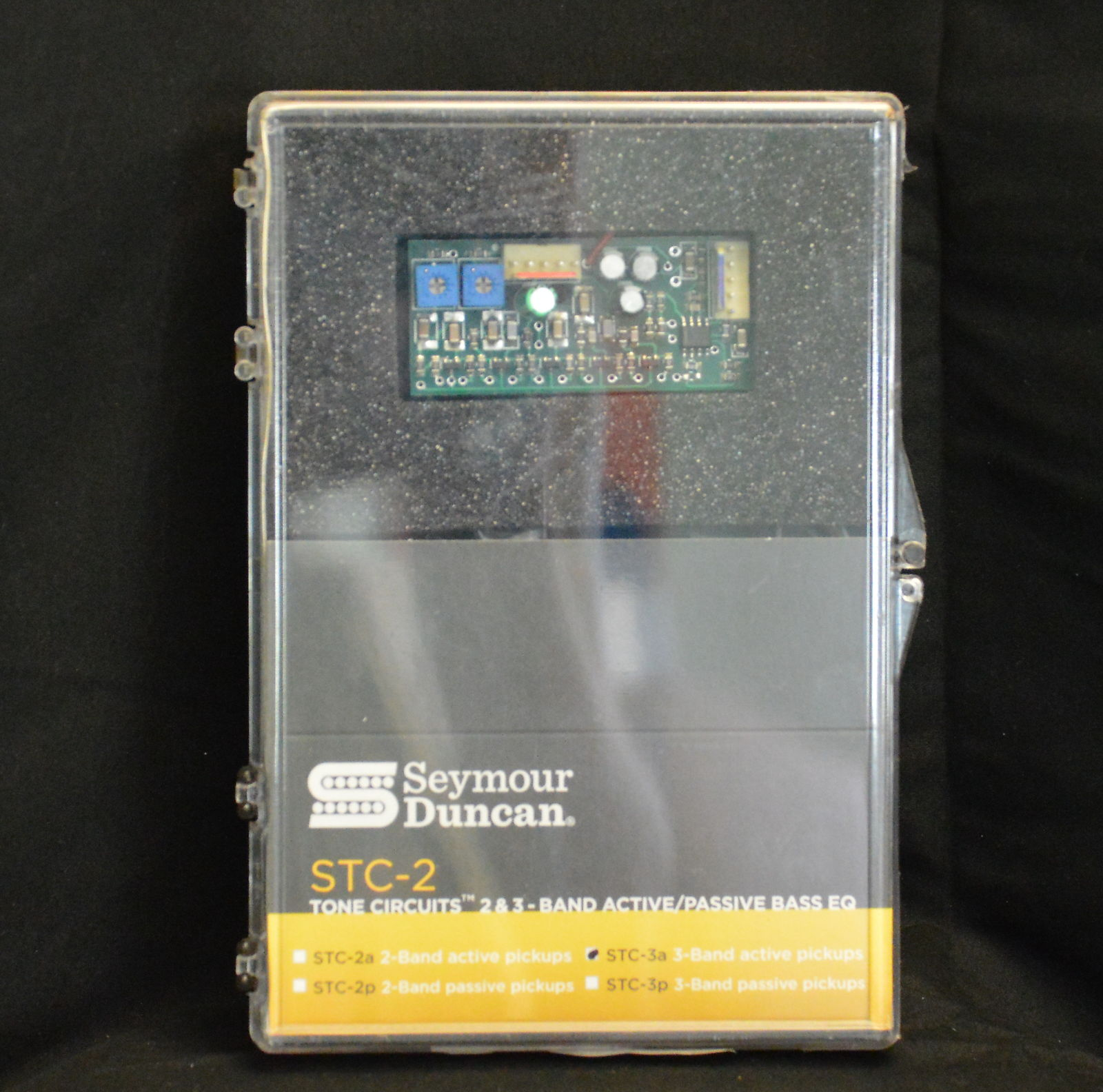 Seymour Duncan Stc 3a 3 Band Tone Circuit For Active Pickups Schematic A Equalizer On Control