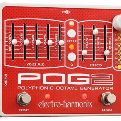 Electro-Harmonix POG2 Octave Pedal