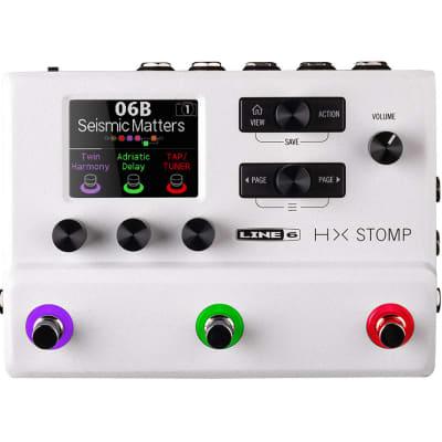 Line 6 HX Stomp Multi-Effects Processor Limited Edition - White