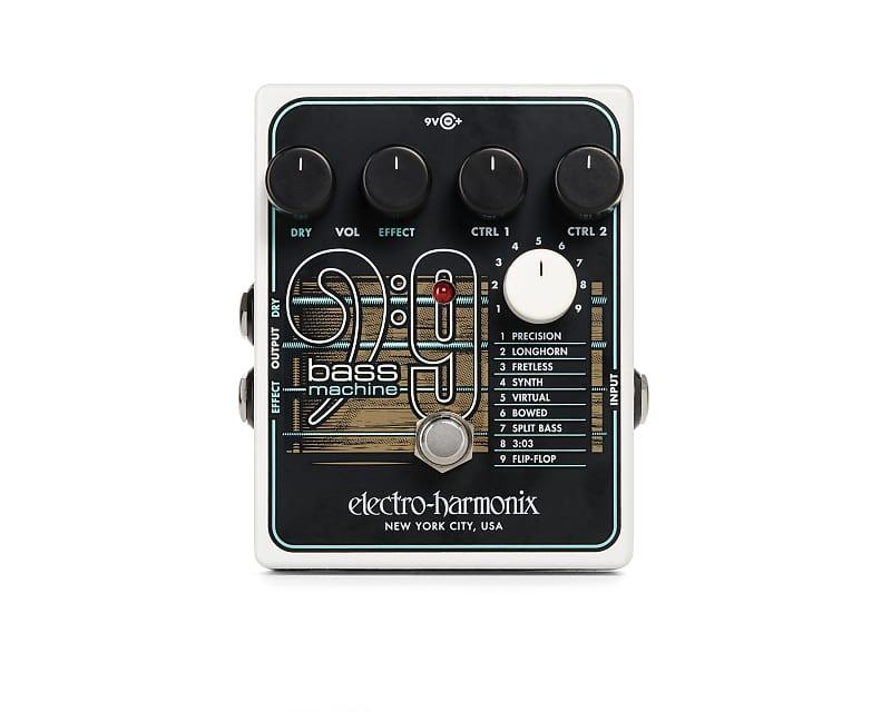 Electro-Harmonix EHX BASS9 Bass Machine Effects Pedal