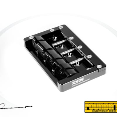 KSM Foundation Bass Bridge  (4-String)