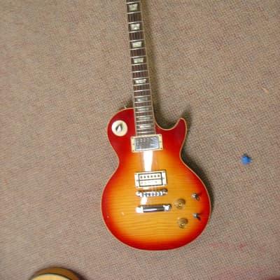 Electra 1980 Electra Omega Cherry Burst set neck Lester Super Flame !  1980  Cherry Burst for sale