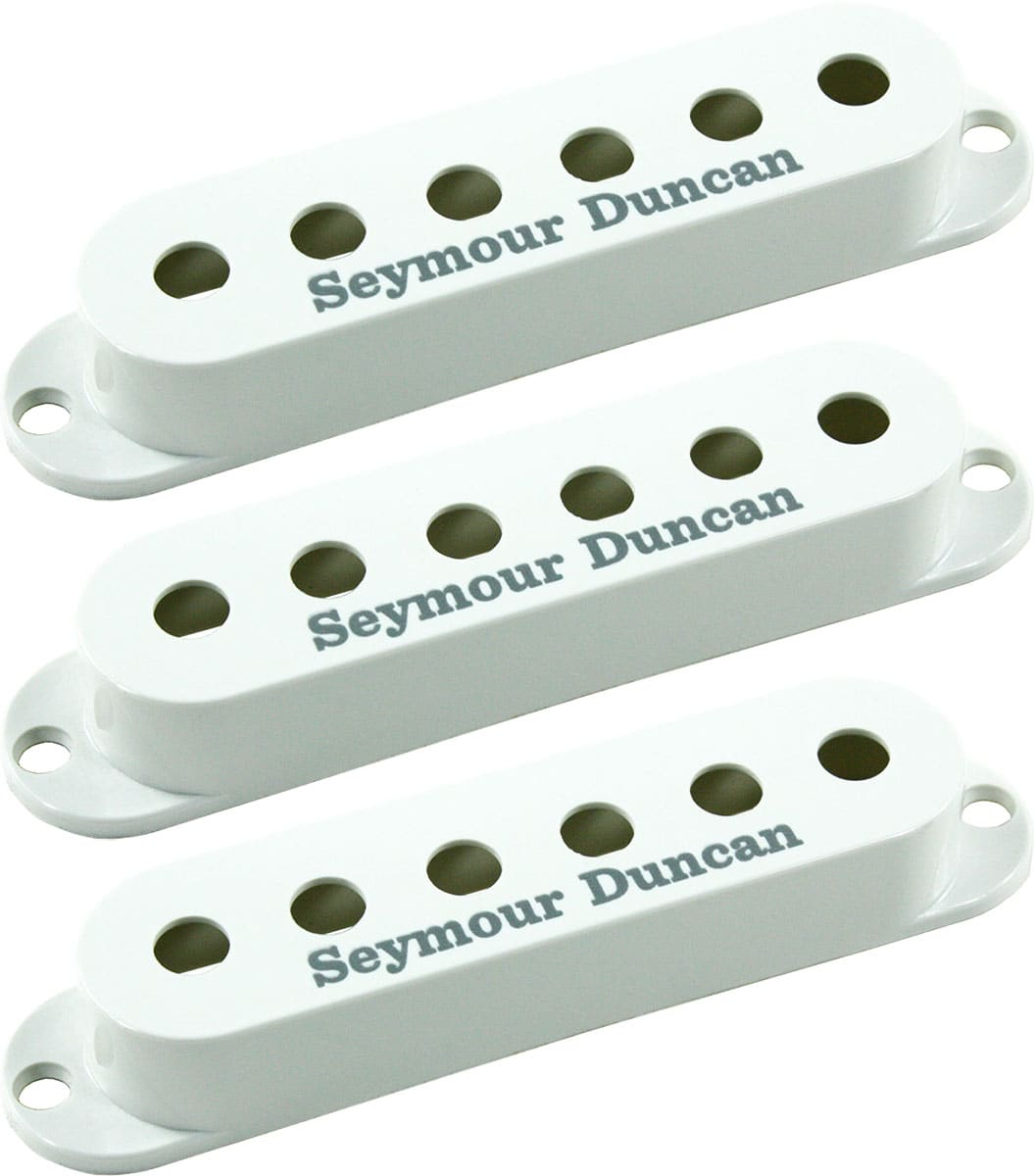 seymour duncan set of 3 pickup covers for strat single coil reverb. Black Bedroom Furniture Sets. Home Design Ideas