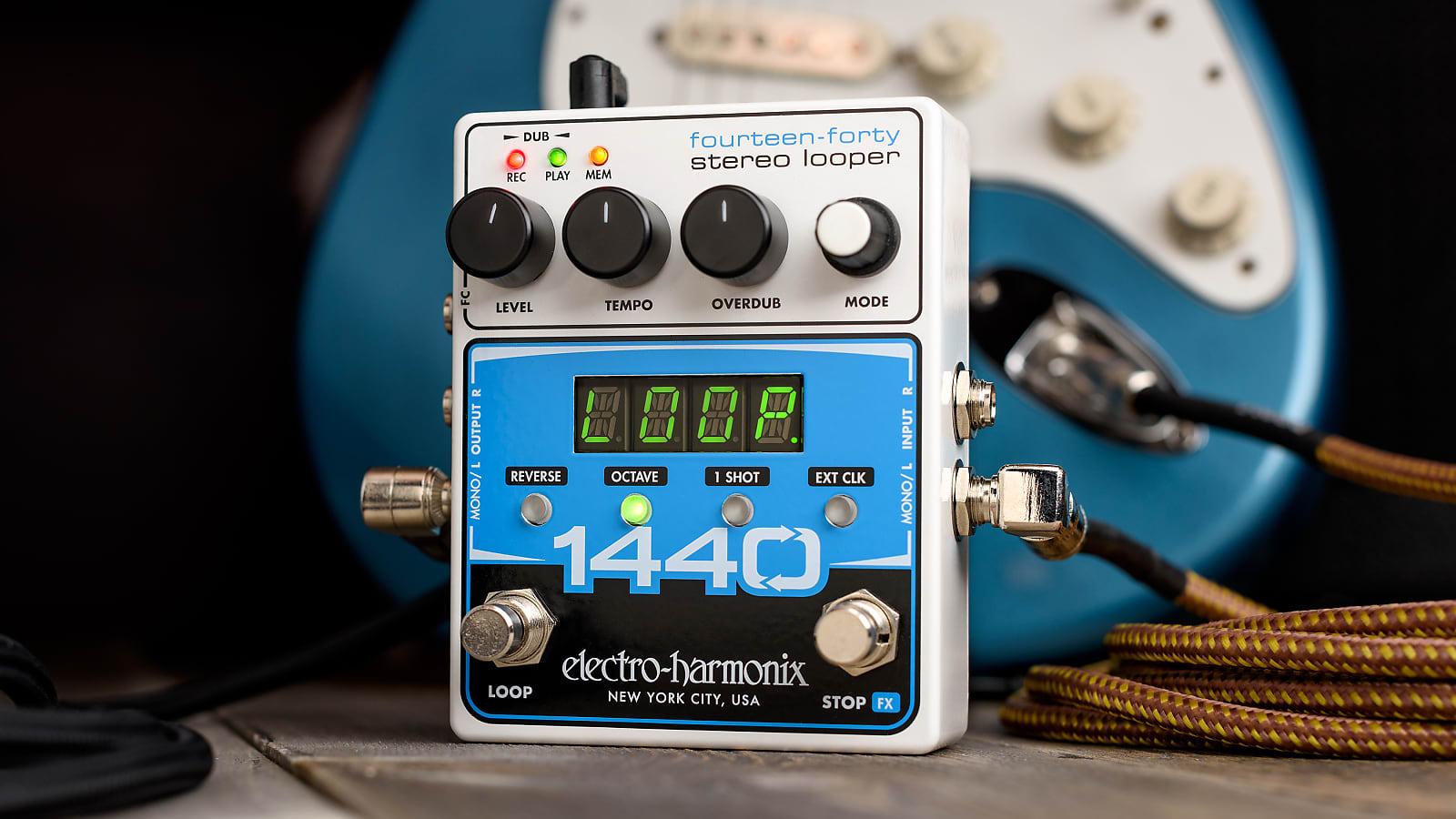 Electro-Harmonix EHX 1440 Stereo Looper Pedal