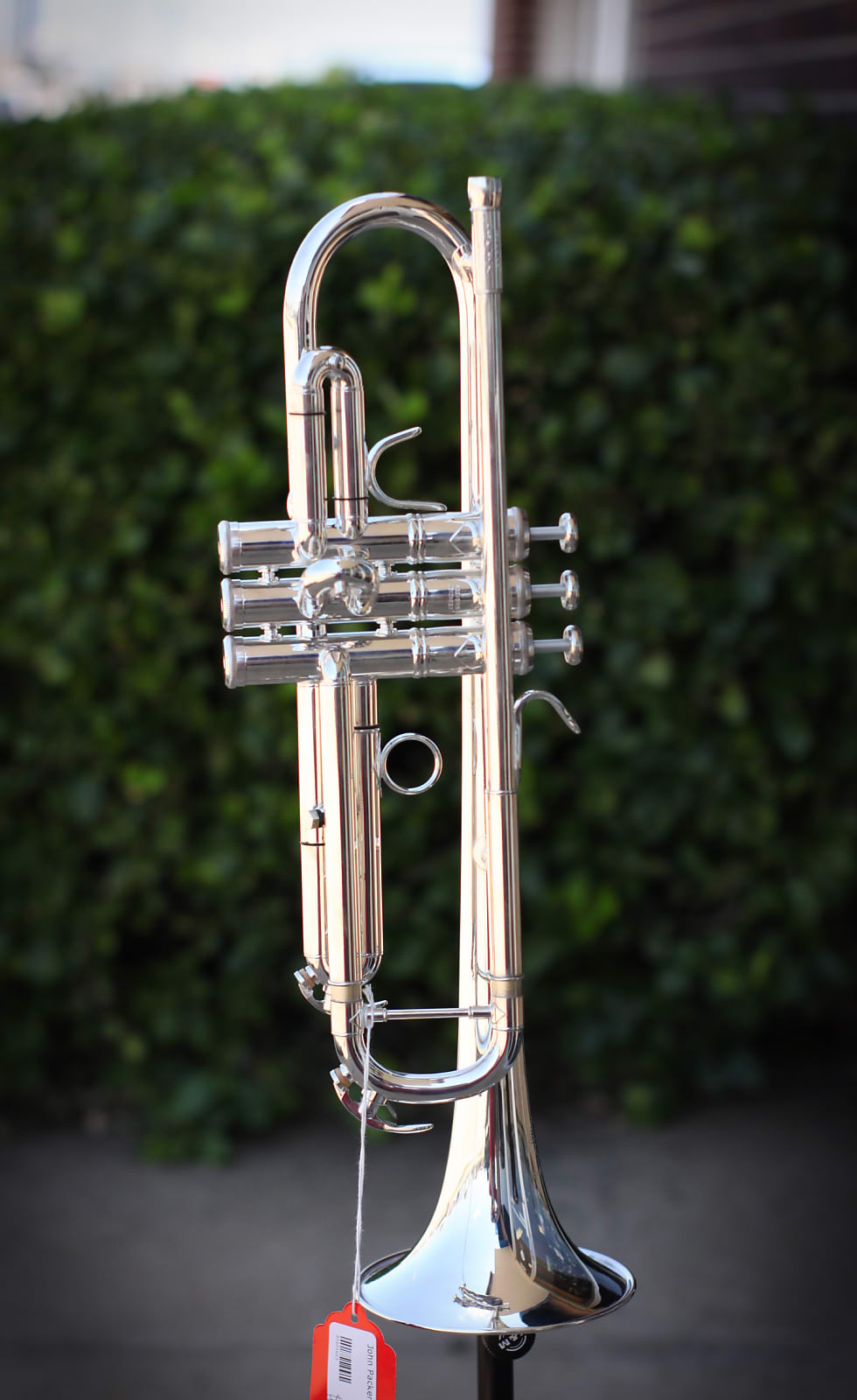 John Packer - JP251 Student Trumpet in Silver - Free Shipping!