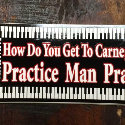 AIM Carnegie Hall Practice Bumper Sticker 2012