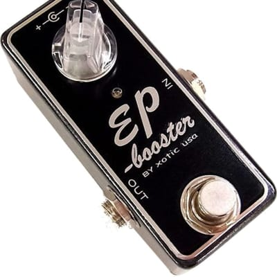 Xotic EP Booster Mini EQ Effect Pedal  Up to +20db of Gain