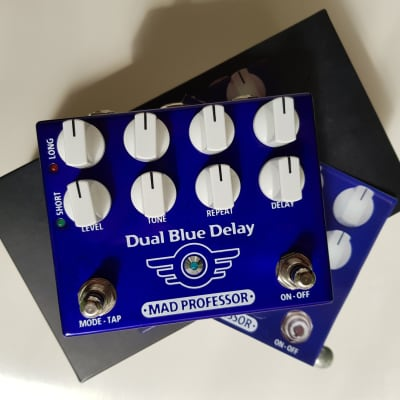 Mad Professor Dual Blue Digital Delay Tape Drum Echo Analog for sale