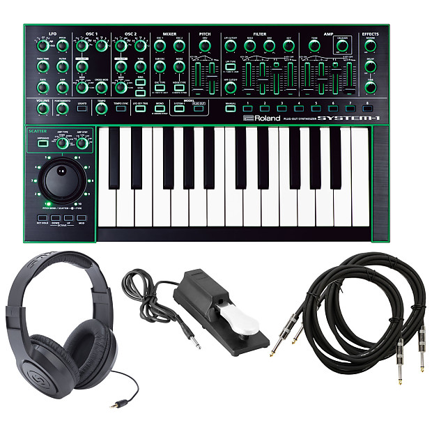 Roland AIRA SYSTEM-1 Plug-Out Synthesizer Bundle | GearTree