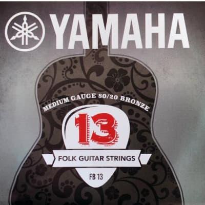 Yamaha 80/20 Bronze Acoustic Guitar Strings - Medium FB13 13-56 for sale