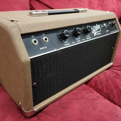Jim Kelley Amplifiers 60 Watt Single Channel Head 1970s? Brown for sale
