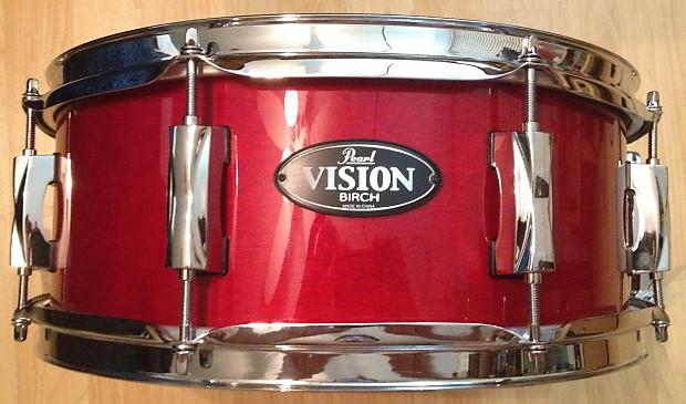 pearl vision birch 8 lug snare drum reverb. Black Bedroom Furniture Sets. Home Design Ideas