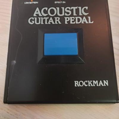 Rockman Acoustic guitar pedal black