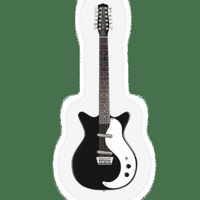 Danelectro DC59BLK-12 Vintage 12-String Black