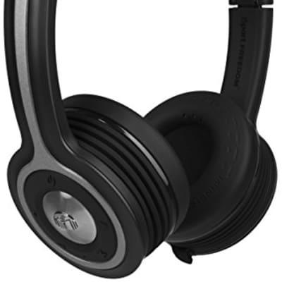 21aab68da85 Monster Isport Freedom Wireless Bluetooth On-Ear Headphones in Black (Used)
